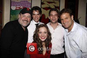 Frank Wildhorn, Chris Peluso, Laura Osnes, Jeremy Jordan and Jeff Calhoun  Henry's restaurant owner Henry Rinehart and Jeff Calhoun...