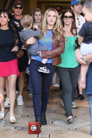 Brooke Mueller leaving The Grove after some shopping. Los Angeles, California - 05.03.11