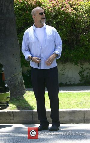 Bruce Willis drops off his wife Emma Heming at a private residence in Beverly Hills Los Angeles, California - 15.07.11