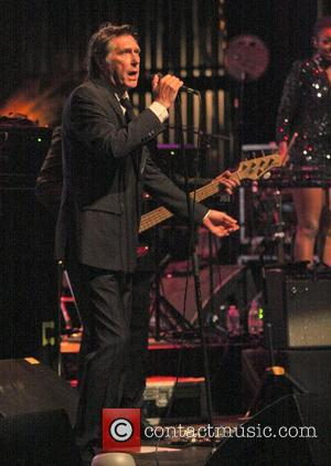 Bryan Ferry performs during a dimly lit intimate performance at the Fillmore Miami Beach Miami, Florida - 29.09.11