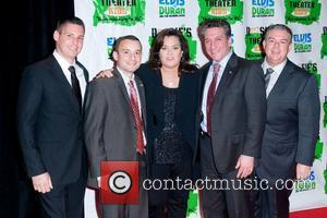 Rosie Odonnell, Elvis Presley and New York Marriott Marquis