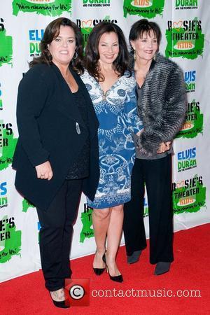 Rosie Odonnell, Fran Drescher, Linda Dano and New York Marriott Marquis