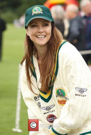 Emma Samms Bunbury Celebrity Charity Cricket Match held at Box Hill School Surrey, England - 19.06.11