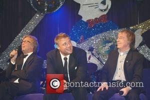 Eric Clapton, Andrew Flintoff and Bill Wyman
