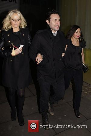 Pro skater Katie Stainsby (left) and Antony Costa at the Dancing On Ice Party held at Bungalow 8 Club. London...