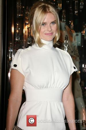 Alice Eve Burberry Body fragrance launch hosted by Christopher Bailey and Rosie Huntington-Whiteley at the Burberry store Los Angeles, California...