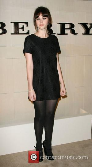 Felicity Jones Burberry Body Fragrance Launch held at Burberry Store Los Angeles, California - 26.10.11