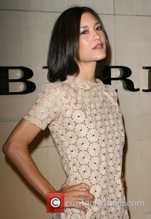Julia Jones Burberry Body Fragrance Launch held at Burberry Store Los Angeles, California - 26.10.11