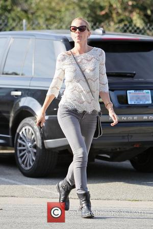 Monet Mazur celebrities outside Byron and Tracey Salon in Beverly Hills for a hair appointment Los Angeles, California - 03.11.11