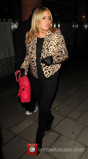 Patsy Kensit leaving C London restaurant London, England - 17.03.11