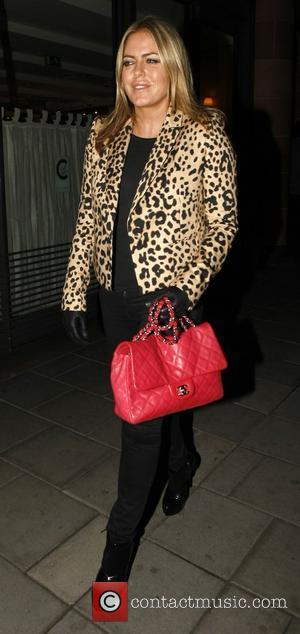 Patsy Kensit leaves C restaurant in Mayfair London, England - 17.03.11