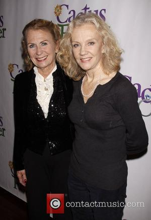 Juliet Mills and Hayley Mills Opening night after party for the Off-Broadway production of 'Cactus Flower' held at B. Smith's...