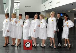 Real-life Calendar Girls Give Money Away