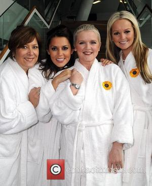 Lynda Bellingham, Bruno Langley, Calendar Girls, Danielle Lineker, Jennifer Ellison and Ruth Madoc