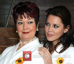 Ruth Madoc, Bruno Langley, Calendar Girls, Danielle Lineker, Jennifer Ellison and Lynda Bellingham