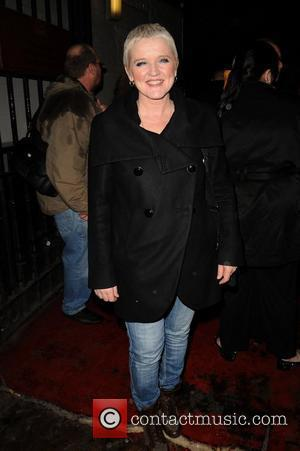 Bernie Nolan Celebrities outside the Palace Theatre for the stage production of 'Calendar Girls' Manchester, England - 25.02.11