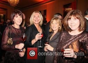 Amanda Redman and guests ActionAid UK 'Call My Wine Bluff' at the St Pancras Renaissance Hotel London, England - 17.11.11
