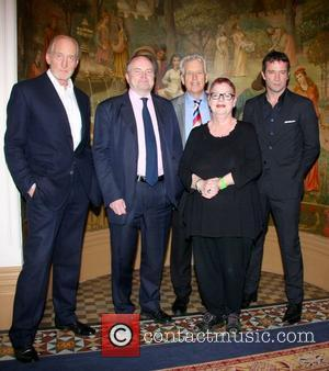 James Purefoy, Jo Brand, Charles Dance, Clive Anderson and Nicholas Owen ActionAid UK 'Call My Wine Bluff' at the St...