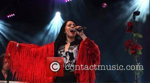 Clare Maguire performing on the main stage  Camp Bestival held at Lulworth Castle & Park - Day 1 Dorset,...