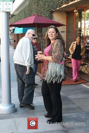 Actress Camryn Manheim is seen in good spirits while leaving the Khalsa Medical Clinic Los Angeles, California - 21.11.11