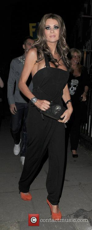 Nicola McLean arriving at a private party in Chelsea. London, England - 24.03.11