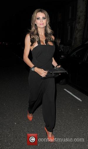 Nicola McLean leaving a private party in Chelsea. London, England - 24.03.11