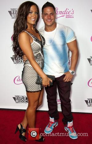 Sammi Giancola and Ronnie Ortiz-Magro Candie's host The 2011 MTV VMA After Party at The Colony - Arrivals  Los...