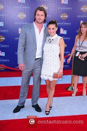 Chris Hemsworth, Elsa Pataky Los Angeles Premiere of Captain America:The First Avenger at the El Capitan Theater - Arrivals Hollywood,...