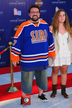Kevin Smith, Harley Quinn Smith Los Angeles Premiere of Captain America:The First Avenger at the El Capitan Theater - Arrivals...