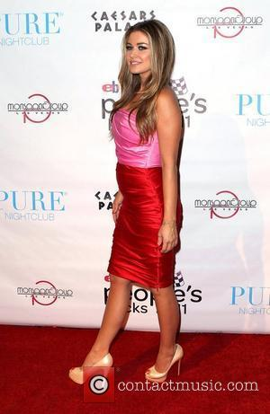 Carmen Electra and Caesars Palace