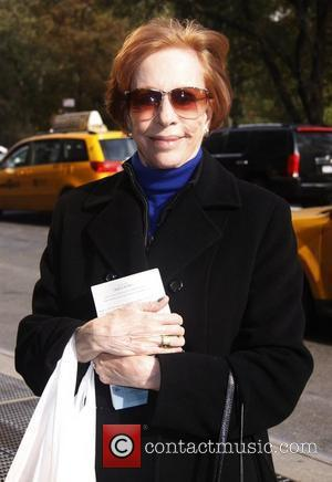Carol Burnett legendary actress in good spirits while out and about in Manhattan New York City, USA - 03.11.11