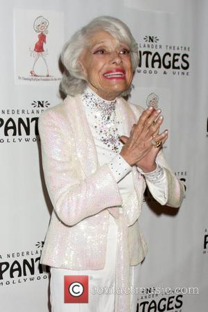 Carol Channing  Performance Celebrating Carol Channing's 90th Birthday at Pantages Theater - Arrivals Los Angeles, California - 21.02.11