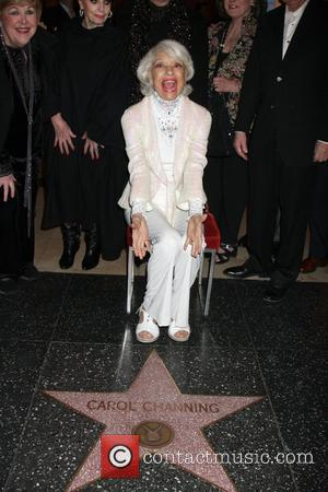 Carol Channing, Celebration and Walk Of Fame