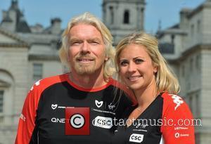 Richard Branson and Holly Branson
