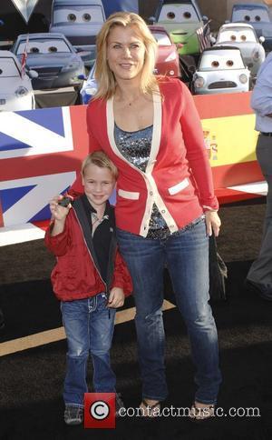 Alison Sweeney and Benjamin