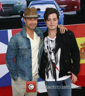 Joey Lawrence and Andrew Lawrence The Los Angeles premiere of 'Cars 2' held at El Capitan Theatre - Arrivals Los...