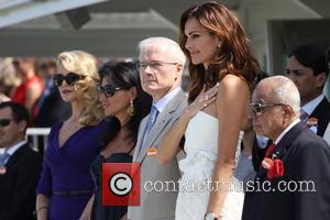 Tasha De Vasconcelos and Christie Brinkley Cartier International Polo Day held at Guards Polo Club Windsor, England - 24.07.11