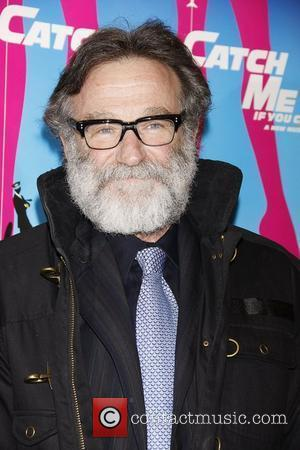 Robin Williams  Opening night of the Broadway production of 'Catch Me If You Can' at the Neil Simon Theatre...