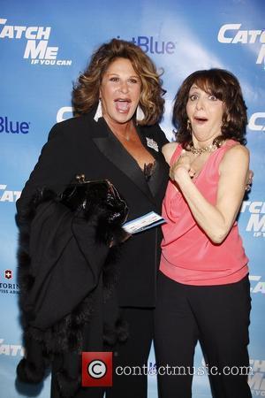 Lainie Kazan and Andrea Martin