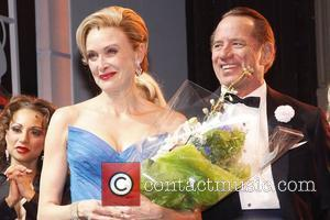Rachel de Benedet and Tom Wopat Opening night of the Broadway production of 'Catch Me If You Can' at the...