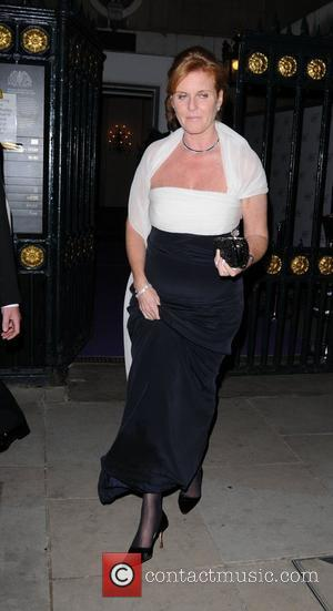Sarah Ferguson  The Caudwell Children's Butterfly Ball held at Banqueting House - Departures London, England - 12.05.11