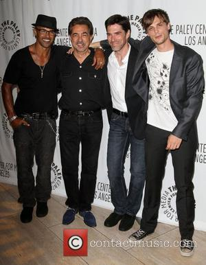 Shemar Moore, Joe Mantegna, Matthew Gray Gubler and Thomas Gibson
