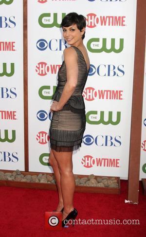 Morena Baccarin  CBS TCA Summer 2011 All Star Party at Robinson May Parking Garage Beverly Hills, California - 04.08.11