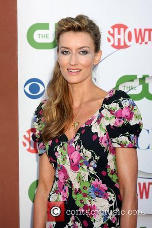 Natascha McElhone  CBS TCA Summer 2011 All Star Party at Robinson May Parking Garage Beverly Hills, California - 04.08.11