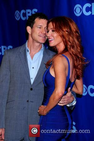 Dylan Walsh and Poppy Montgomery 2011 CBS Upfront held at the Lincoln Center New York City, USA - 18.05.11