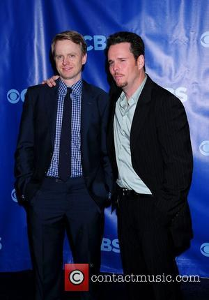 Kevin Dillon and David Hornsby 2011 CBS Upfront held at the Lincoln Center New York City, USA - 18.05.11