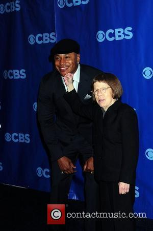 LL Cooll J and Linda Hunt 2011 CBS Upfront held at the Lincoln Center New York City, USA - 18.05.11
