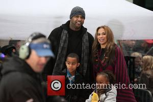 New York Yankees pitcher CC Sabathia, his wife Amber Sabathia and their children make an appearance on NBC's 'Today' show...