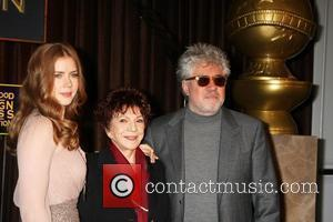 Amy Adams, Pedro Almodovar and Beverly Hilton Hotel