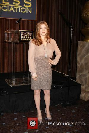 Amy Adams and Beverly Hilton Hotel